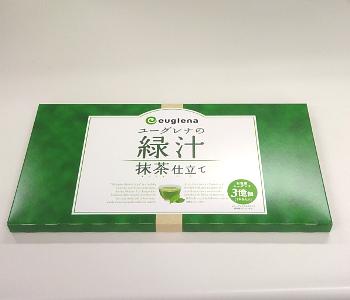 ユーグレナの緑汁 抹茶仕立て容器