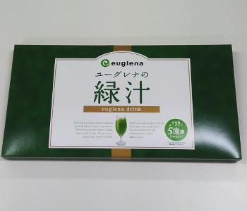 ユーグレナの緑汁容器