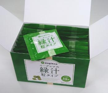 ユーグレナの緑汁 粒タイプ容器